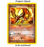Vijand... Red Moon Moltres by FlamingClaw
