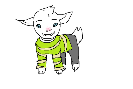 Accurate asriel by MissMithiin