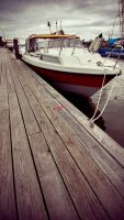 The calm at the docks by Kairoze