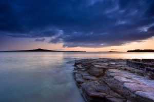 Clouds on Rangitoto by chrisgin