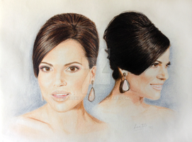 Lana Parrilla at the Gracie Awards by jackiecane