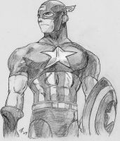 MVC2-Captain America by trxstr
