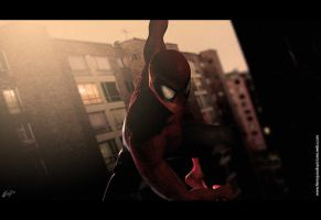 Spider man 3D by FelipeFierro