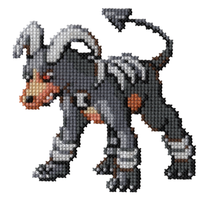 229 - Houndoom by Devi-Tiger