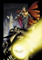 World's Finest color by julianlopezart