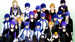hzeo MMD Models by hzeo