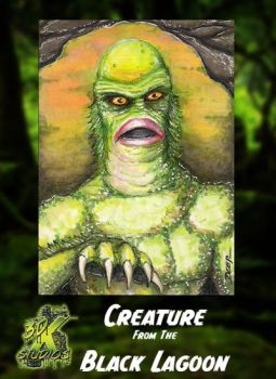 Creature from the Black Lagoon by 3DXStudios