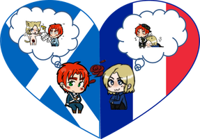 ScotFran Shimeji Heart by LadyAxis