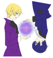 'Ciel and Alois merge' by Obsessed-Fangirl-X3