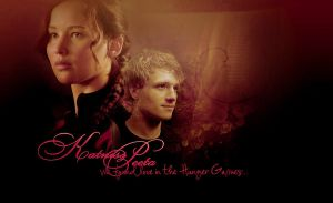 Katniss and Peeta by miu05