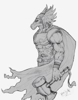 Beta Ray Bill by halleymurray