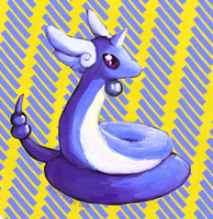 Dragonair by Odettery