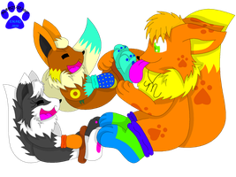 AR: Lickies and Tickle Time by Marquis2007