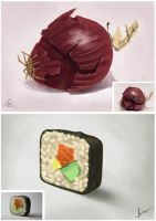 MayChallenge : FooD by painted-leaf