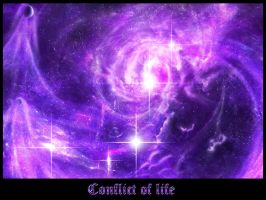 Conflict of life Wallpaper by vissroid