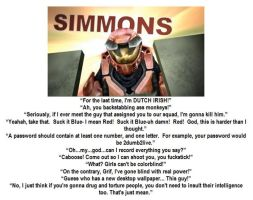 Fav Simmons Mottos by ShepardSoldier