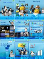 Sony Ericsson Penguins Theme by ivanraposo