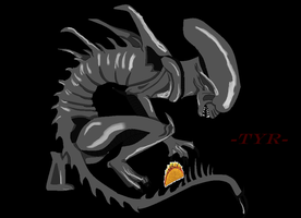 Tyr the Mexican Xenomorph! by snowleopard96