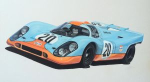 Porsche 917K by JamesWoodhead