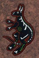 Kangaroo card exp 2 WIP 2 by urbanimal