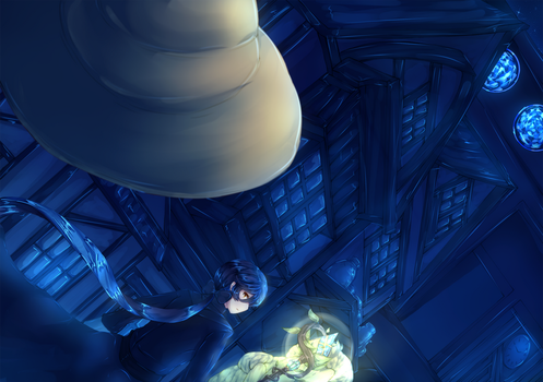 CT Mission Finale: Quiet Night -Before battle- by Kucingila