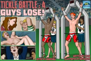 Tickle Battle 4 Guys Lose Cover by MTJpub