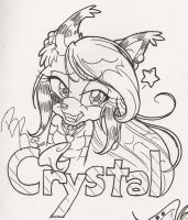 Crystal Coyote by KissTheThunder
