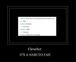 Cleverbot Motivational Poster by RollinKitty