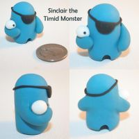 Sinclair the Timid Monster by TimidMonsters