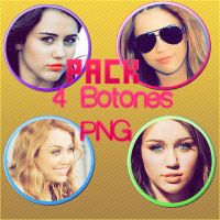 Botones PNG De Miley Cyrus by SmilerCyrus28Forever