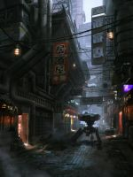 Dark District Concept 1 by MitchellMohrhauser