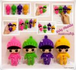 Colorful Baby Plushies... by SongAhIn