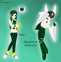 .:MM ZX OC:. Mint - Model Slur by CrystalViolet500