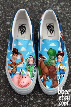Toy Story Shoes by BBEEshoes