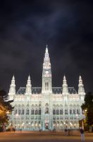 Vienna City Hall by roarbinson