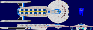 USS Napoleon Refit Multi-View by captshade