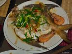 Steamed fish Chinese style by asiaseen