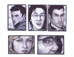 Heroes Sketch Card Fin by BankyOne