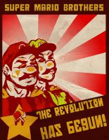 Super Communist Bros. by RoccoBertucci