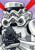 Stormtrooper Sketch Card by Chad73