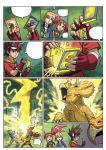 Dinosaur King page 06 by UltimateRubberFool