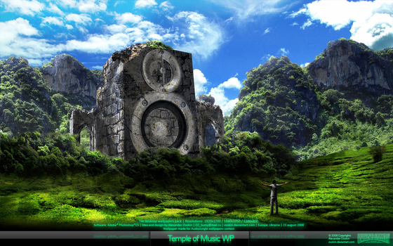 The Temple of Music WP by Osokin