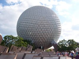 EPCOT Geosphere by morbiusx33