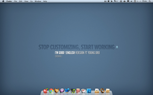 Stop Customizing by umei