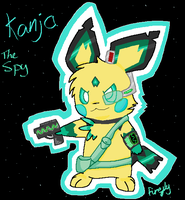 Kanja - Star Force Spy by FireflyYoshi