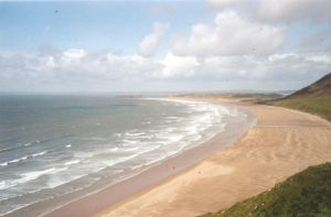 long long beach - Wales GB by IannaBaskerville