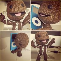 SackBoy Little Big Party by admixgrafix