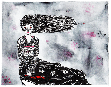 Hell Girl by ADAtheQueenOfHEARTS