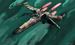 X-Wing by unsword