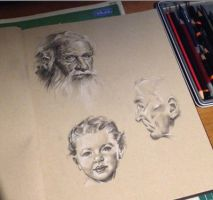 Age sketches by PatrickRyant
